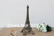 25cm (Height) Restore Bronze Paris Eiffel Tower Statue Metal Figurines Home & Bookshelf Decoration Favors
