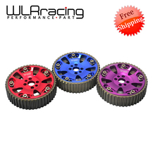 WLRING STORE Free shipping- (One Pair)CAM GEARS KIT  FOR NISSAN SKYLINE RB20 RB25 RB26 R32 R33 R34(Blue,Red,Purple) WLR6536