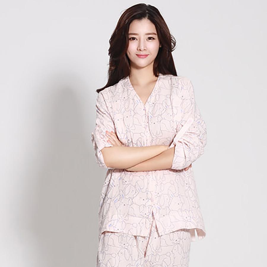 Summer Maternity Pajamas Set Pajamas Shirt Feeding For Pregnant Half Sleeve Cotton Cute Pregnant Clothes Big Size 50M0011<br><br>Aliexpress