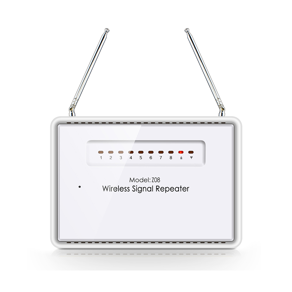 433mhz Wireless Enhance signal transmitter repeater Stronger signal for KERUI Home Security Burglar alarm system<br>