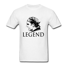 2017 Popular Roger Federer T Shirt Men Swiss Legend Hero Tees  Short Sleeved Cotton Clipart Tshit for Man