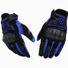 Scoyco MC23 Motorcycle Racing Accessories Bike Bicycle Full Finger Protective Gear Gloves Free Drop Shipping Wholesale(China)