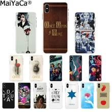 Чехол для телефона MaiYaCa Once Upon A Time TV show Customer высокого качества для Apple iPhone8 7 6 6S Plus X XS MAX 5 5S SE XR мобильный чехол s(China)