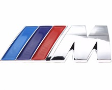 Excellent car styling Car Sticker M power Series Logo  Emblem Badge Chrom 1 3 4 5 6 7 E Z X M2 M3 M4 M5 M6 Mline for BMW M