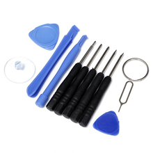 11pcs/set Cell Phones Opening Pry Mobile Phone Repair Tool Kit Screwdrivers  Set For iPhone 4 4S 5 5s 6,6Plus Hand Tools Set
