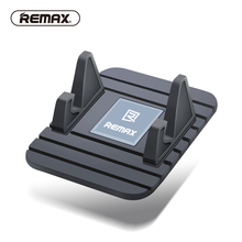REMAX Universal Silicone Anti Slip Mat car holder Mobile Phone Adjustable mount Stand Bracket Dashboard holder for iphone6 7 GPS