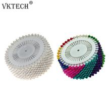 480pcs/30 pcs Colorful Round Pearl Straight Head Pins Localization Needle Weddings Corsage Dressmaking Sewing Pins Accessories(China)