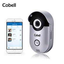 Cobell Smart Door Intercom 720P HD Video Door Phone Wireless WIFI Doorbell Remote Unlock Waterproof IP66 IR-Cut Night Vision