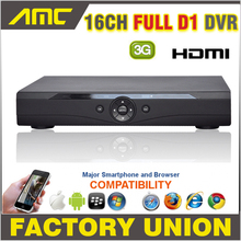 Full D1 DVR 16CH CCTV DVR 3G WIFI HDMI 1080P 16 channel DVR P2P Cloud CCTV Digital Video Recorder H.264 DVR 16Channel