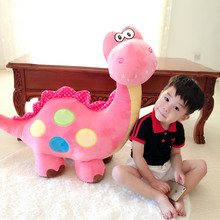 Large Size 100cm Cartoon Dinosaur Plush toy Lovely Dragon Soft Stuffed Tyrannosaurus rex Doll Kids Toy Best Gifts for children