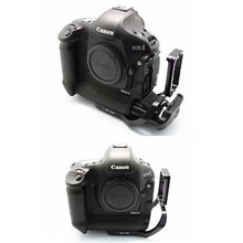 Pro Вертикальная L Тип кронштейн штатив Quick Release Plate основание для Canon 1D4 1D3 1D Mark IV III(China)