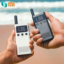Original XIAOMI MIJIA UHF/VHF Dual Band Handheld Walkie-s Talkie-s Bluetooth 4.0 Walkie-s Talkie-s FM Radio Location Share