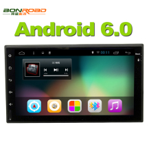 "7""Android 6.0 Quad Core 1.6G*4 2din Car Video Player 1024*600 Resolution GPS Navigation with Wifi Mirror Link Car PC 1080P Video"