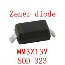 0805 smd zener diode sod-323 MM3Z13V 100pcs(China)