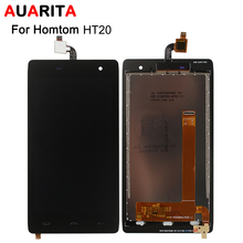 Quality Homtom HT20 LCD Display Touch Screen Glass Assembly Replacement 4.7'' Homtom HT 20 HT20 Phone Replace LCD Digitizer