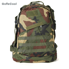 40L 3D Outdoor Sport Military Tactical climbing mountaineering Backpack Camping Hiking Trekking Rucksack outdoor Travel Bag