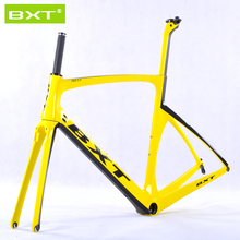 BXT2016 brand Chinese carbon frames super light Aero Design carbon road frame BSA/PF30 racing bike bicycle frame 25c wheel Free