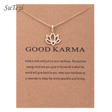 SUTEYI Fashion gold-color Key Anchor Pendant Necklace Short Chains Flower Crown Elephant Necklaces For Women Jewelry