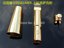 France Selmer E Flat Baritone Saxophone Mouthpiece Gold surface Instrument Sax Mouthpiece Musical Instruments Accessories(China)