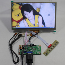 VGA LCD controller board RT2270 with 10.2inch HSD100IFW1 CLAA102NA0ACW 1024x600 lcd+Multi touchLcd panel