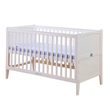 pine multifunctional baby crib,baby wooden crib ,multifunctional baby bed(China)