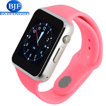 men women smart watch for android bluetooth Sport pedometer Support Whatsapp Twitter SmartWatches for Samsung Camera GT08 DZ09