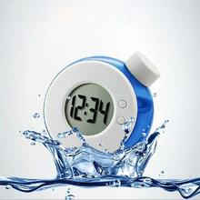 New Smart Water Element Magic Water Power Alarm Clock Creative Electronics(China)