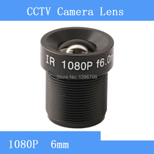 Factory direct surveillance camera lens M12 interfaces  F2 fixed aperture HD 1080P 6mm CCTV lens