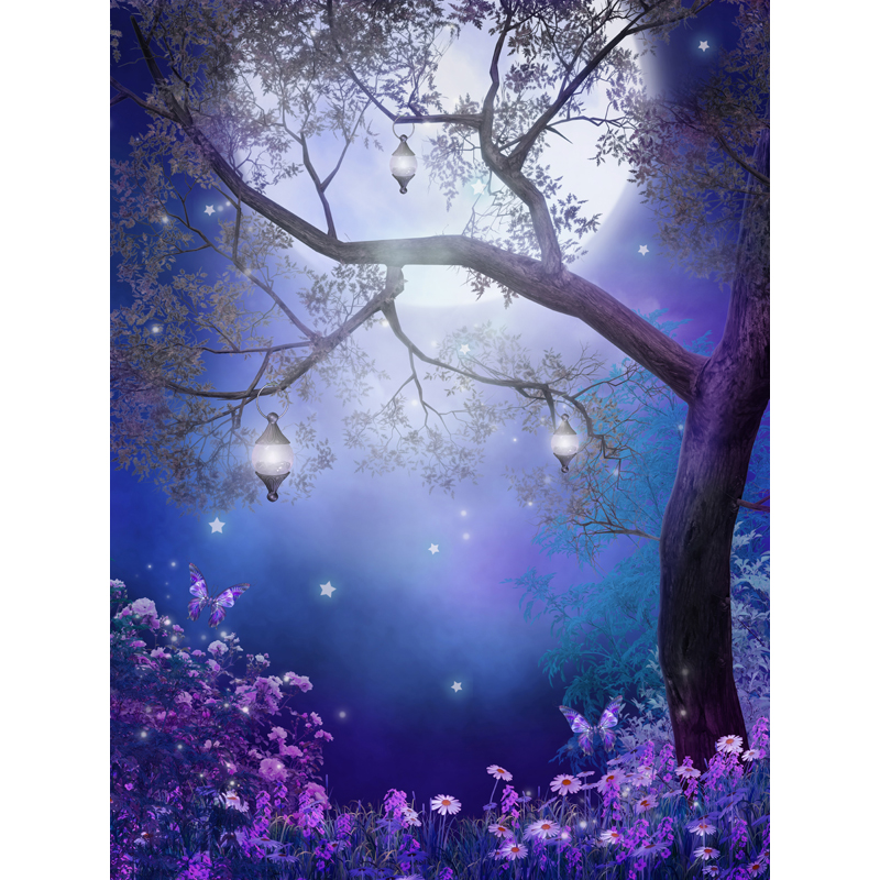 Fairy tale Computer-painted beautiful scenery Photography Background Photo Studio Backdrop  F-1634<br><br>Aliexpress