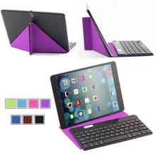 Bluetooth Keyboard With a Transformers Stand case for Windows IOS Android Tablet / Phone Samsung Galaxy Tab /  Note ipad iphone