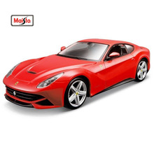 Maisto 1:24 F12 Assembly DIY Diecast Model Car Toy New In Box Free Shipping