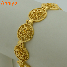 Buy Anniyo 18.5cm Ethiopian Bracelet Gold Color Eretrian Bangle Women Jewelry African Style Hand Chain Arab/Spain for $4.36 in AliExpress store
