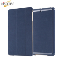 KISSCASE Bag For IPad Mini Shockproof 3 Fold Stand Support Case For iPad Mini 1 2 3 Retina Flip Leather Cover Tablet Accessories