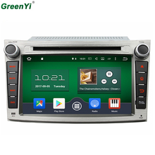 1024*600 2GB RAM Octa Core Android 6.0.1 Stereo Radio Unit Android 6.1 Car DVD GPS For Subaru Outback Legacy 2009 2010 2011 2012(China)