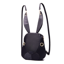 Bunny Backpack 2017 New Nylon Bag Hot Trend mini Purple Backpack
