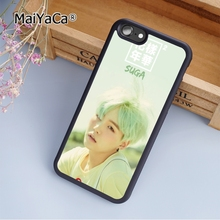 MaiYaCa New BTS BOY fashion soft mobile cell Phone Case Cover For iPhone 6 6S Plus Custom DIY cases luxury shell(China)