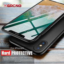 Full Protective Case for iPhone X 8 7 6 6s PC Hard Back Cover CASE For Apple iPhone X 8 7 6S 6 Plus 5 5s SE Case Phone Funda(China)