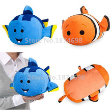New Tsum Tsum Finding Dory Nemo Dory Medium Plush Pillow 30*18cm Cute Stuffed Animals Soft Kids Toys Dolls Children Gifts