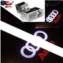 LED Door Warning Light With For audi Logo Projector for 1 2  A3 A4 B5 B6 B7 B8 A6 C5 C6 Q5, Q7, TT A4L A5 A8 A1 A8L A6L Q3 R8