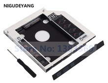 NIGUDEYANG 2nd Hard Disk Drive SSD HDD Caddy Adapter for Dell Precision M4800 M6800 Swap GS40N DVD ODD