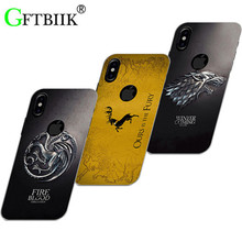 Cute Cartoon Case For Apple Iphone 8 Hard Plastic Case Fashion Printed Cover Game of Thrones 7