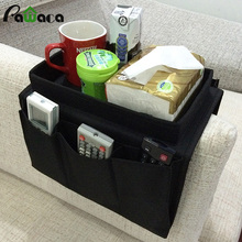 Home Sundries Storage Bags Hanging Sofa Bedside Storage Bag Cup Phone Remote Control Debris Tissue Holder Basket Organizer