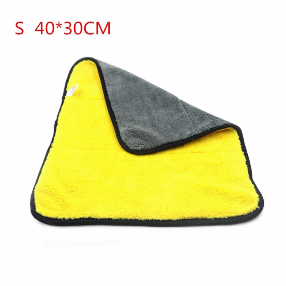 bb680c353cca Thickened Super-absorbent Coral Cashmere Towels Car Care Wax Polishing  Detailing Towels Car Washing Drying Towel - us509