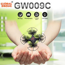Global Drone GW009C RC Mini Drone With Camera Quadcopter Dron RC Helicopter Drones With Camera HD Quadrocopter VS CX-10W/CX-10W-