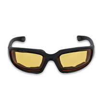 Motocross Motorcycle Glasses Men Vintage Retro UV Motorbike Motor Goggles Outdoor Ski Vintage Riding Glasses Protective Yellow