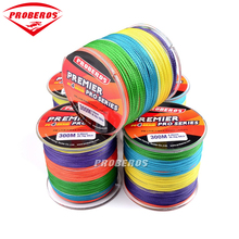 PRO BEROS 300M Multifilament PE Braided Fishing Line 4 stands 6LB 8LB 20LB 30LB 35LB 40LB 50LB 60LB 70LB 80LB 100LB Mixed Color(China)