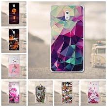 Silicone Cover For Nokia 3 Case Cover Coque For 3D Relief Drawing Soft TPU Coque For Nokia 3 Cover 5.0 Inches Mobile Phone Bag(China)