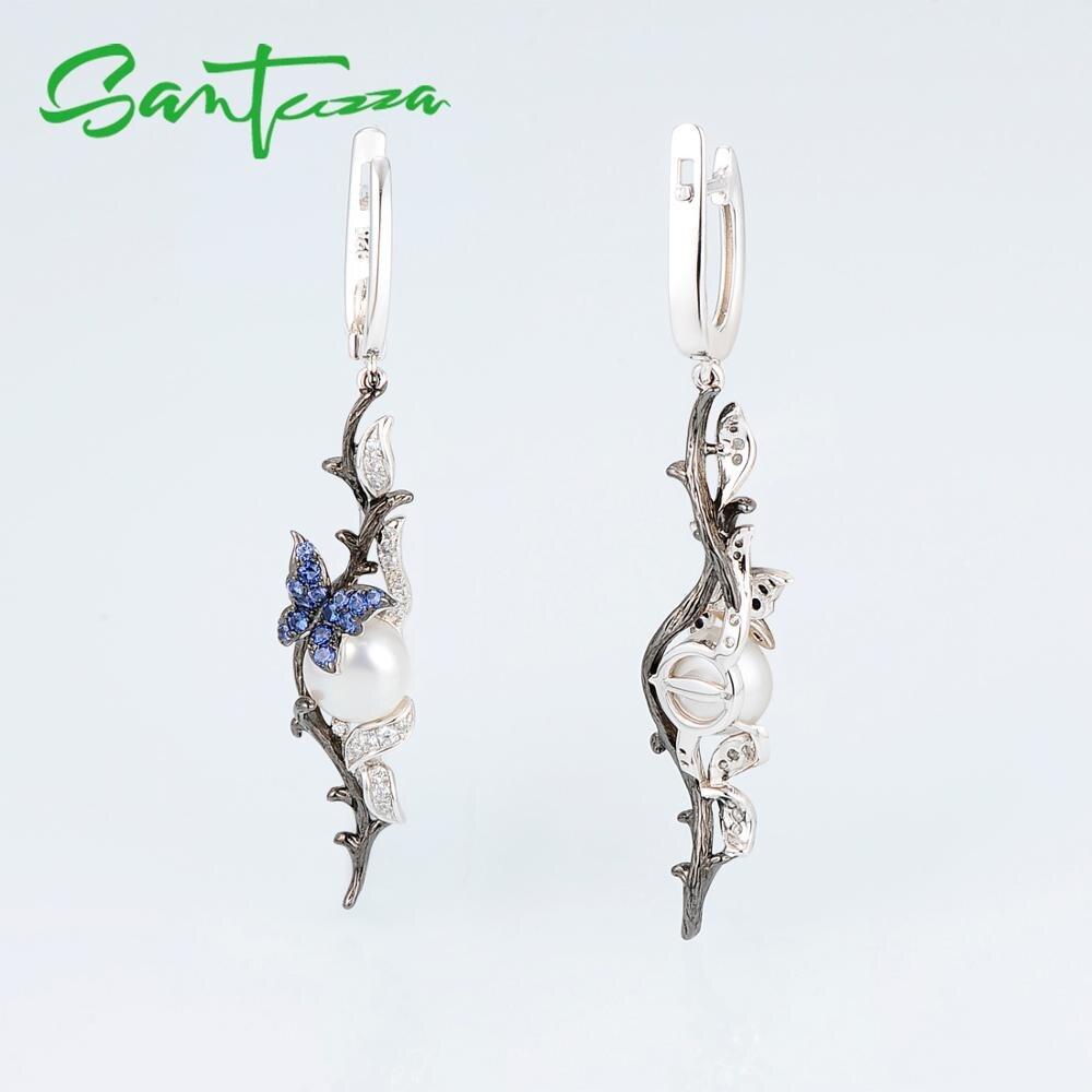 E307634BNFZSK925-SV5-Silver Earrings