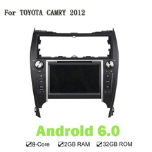 "8""Android 6.0 Octa Core Head Unti Multimedia Car DVD Player For Toyota US Model CAMRY 2012 GPS Navi Radio Stereo 2GB RAM 32GB"