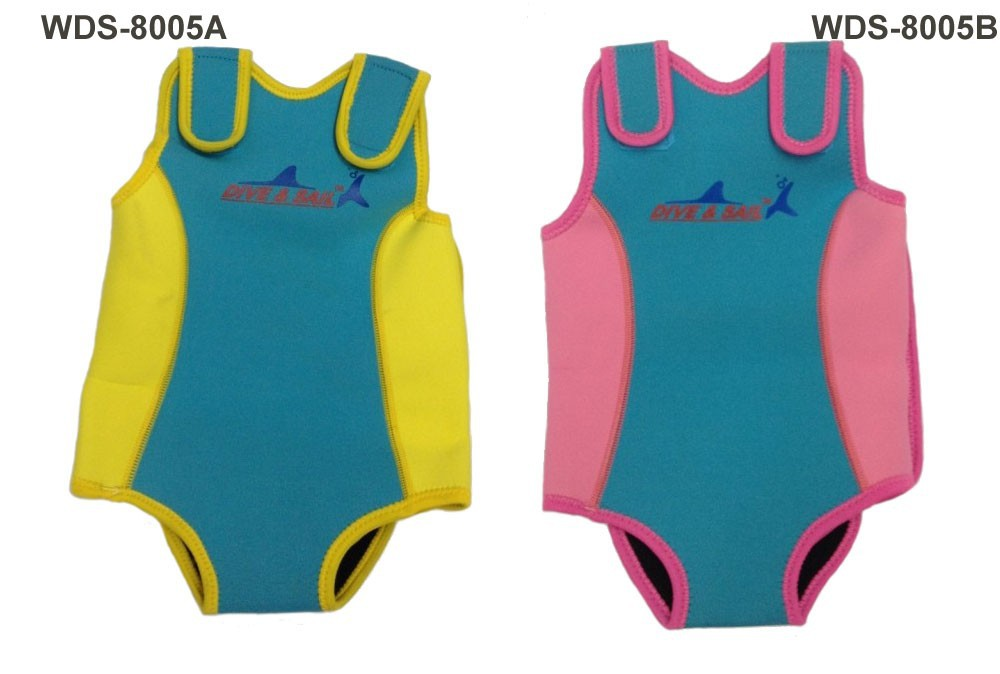 WDS-8005-8-Soles-Up-Front-Baby-Wetsuit-Baby-Warmer.-2mm-Neoprene-Wet-Suit-for-swimming-pool-or-beach
